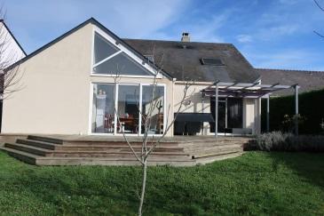 Maison familiale et contemporaine à Sainte Luce sur Loire